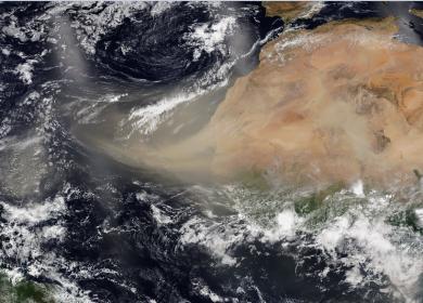 El polvo de El Sahara, ¿Qué es y cómo afecta Centroamérica?